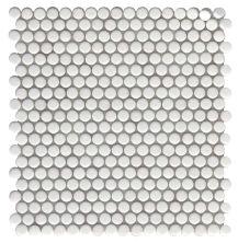 Emser Confetti II Glass Glossy/Matte White W85CON2WH1212MOP