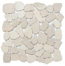 Emser Cultura Pebbles Honed & Tumbled Ivory M05CULTIV1212MOH