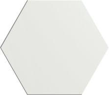 Emser Heksa Porcelain Matte White F30HEKSWH0809HX