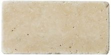Emser Trav Fontane Tumbled Ivory Classic Travertine, Antique & Tumbled Honed, Tumbled & Unfilled Ivory Classic T06FONTIV0306UT