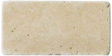 Emser Trav Fontane Tumbled Ivory Classic Travertine, Antique & Tumbled Honed, Tumbled & Unfilled Ivory Classic T06FONTIV0306UT