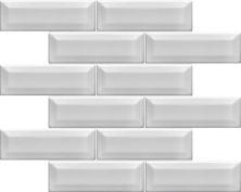 Emser Kinetic Ceramic Glossy White W50KINEWH1112MBV