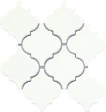 Emser Morocco Ceramic Glossy White W94MOROARWH1011MO