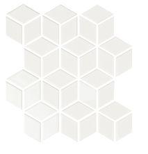 Emser Shape Cube Porcelain Gloss White W71SHAPWH1112MCUG