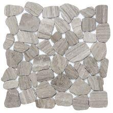 Emser Cultura Pebbles Honed & Tumbled Gray M05CULTGR1212MOH