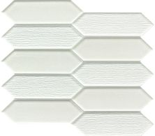 Emser Picket Glass Gloss White W13PICKWH1011MO