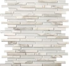 Emser Lucente Linear Stone & Glass Blend Glass Glossy/Matte Ambrato W80LUCEAB1313MOB