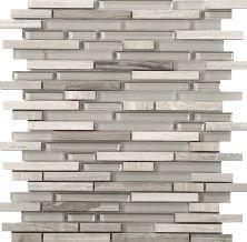 Emser Lucente Linear Stone & Glass Blend Glass Glossy/Matte Certosa W80LUCECE1313MOB