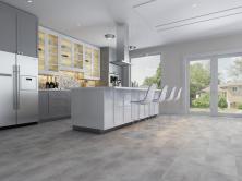 Biyork Floors Hydrogen 6 Tile BIYORK Simply WaterProof Floors clay BYKRCET50CL