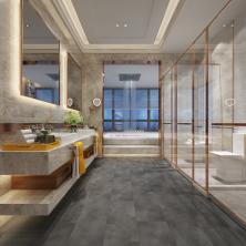 Biyork Floors Hydrogen 6 Tile BIYORK Simply WaterProof Floors marble BYKRCET50MA