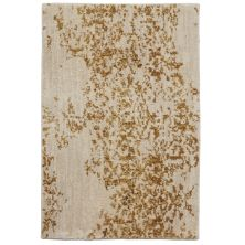 Karastan Rugs Cosmopolitan Nirvana Brushed Gold by Virginia Langley Antique White 2'0″ x 3'0″ Scatter 9095320047024036VL