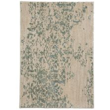 Karastan Rugs Cosmopolitan Nirvana Jade by Virginia Langley Antique White 2'0″ x 3'0″ Scatter 9095360128024036VL
