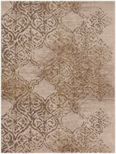 "Karastan Rugs Cosmopolitan Zendaya Desert by Virginia Langley Antique White 5'3″ x 7'10"" 9095420047063094VL"