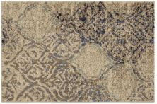 Karastan Rugs Cosmopolitan Zendaya Indigo by Virginia Langley Antique White 2'0″ x 3'0″ Scatter 9095450134024036VL