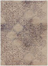 Karastan Rugs Cosmopolitan Zendaya Indigo by Virginia Langley Antique White 8'0″ x 11'0″ 9095450134096132VL