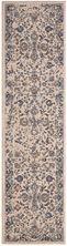 """Karastan Rugs Cosmopolitan Nolita Indigo Antique White 2'4″ x 7'10"""" Runner 9095550134028094IP"""
