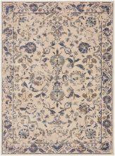 "Karastan Rugs Cosmopolitan Nolita Indigo Antique White 9'6″ x 12'11"" 9095550134114155IP"