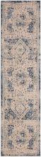 """Karastan Rugs Cosmopolitan Traditional Antique White 2'4″ x 7'10"""" Runner 9096050134028094IP"""