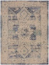 "Karastan Rugs Cosmopolitan Traditional Antique White 5'3″ x 7'10"" 9096050134063094IP"