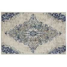 Karastan Rugs Cosmopolitan Armitage Indigo Antique White 2'0″ x 3'0″ Scatter 9096150134024036IP