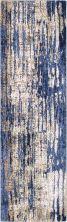 "Karastan Rugs Cosmopolitan Mineral Bleu Indigo by Patina Vie Periwinkle 2'4″ x 7'10"" Runner 9122150134028094PK"