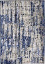 "Karastan Rugs Cosmopolitan Mineral Bleu Indigo by Patina Vie Periwinkle 9'6″ x 12'11"" 9122150134114155PK"