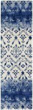 "Karastan Rugs Cosmopolitan Netherlands Indigo by Patina Vie Indigo 2'4″ x 7'10"" Runner 9122250134028094PK"