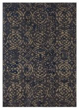 Karastan Rugs Cosmopolitan Block Print Ink Blue by Patina Vie Ink Blue 8'0″ x 11'0″ 9163950139096132PK