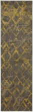 "Karastan Rugs Cosmopolitan Quartz Brushed Gold by Patina Vie Smokey Grey 2'4″ x 7'10"" Runner 9164290116028094PK"