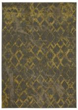 "Karastan Rugs Cosmopolitan Quartz Brushed Gold by Patina Vie Smokey Grey 5'3″ x 7'10"" 9164290116063094PK"