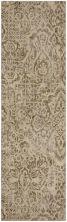 "Karastan Rugs Cosmopolitan Primrose Hill Dove Antique White 2'4″ x 7'10"" Runner 9168770042028094IP"