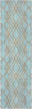 "Karastan Rugs Cosmopolitan French Affair Jade by Patina Vie Jade 2'4″ x 7'10"" Runner 9122060128028094PK"