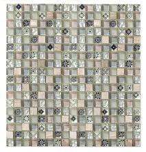 Mohawk Stone Treasure Grey Mist T787-ST14-12×12-AccentTile-Stone