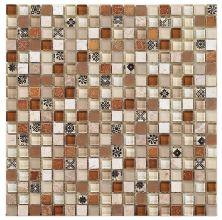 Mohawk Stone Treasure Caramel Splash T787-ST16-12×12-AccentTile-Stone