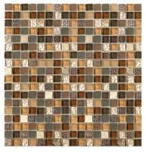 Mohawk Stone Treasure Brown Toffee T787-ST18-12×12-AccentTile-Stone