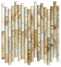 Mohawk Crystal Coves Stone Summer Sand T816-CC98-12×12-MosaicFieldAccentTile-Stone
