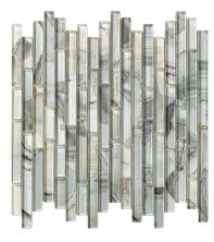 Mohawk Crystal Coves Stone Grey Shell T816-CC99-12×12-MosaicFieldAccentTile-Stone