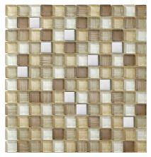 Mohawk Dynasty Bamboo Stone Sumatran Tiger T817-DB02-12×12-MosaicFieldAccentTile-Stone