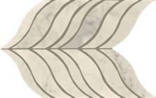 Mohawk Chateau Elegant Stone Bianco Carrara T843-CE40-14.06×8.12-MosaicFieldAccentTile-Stone
