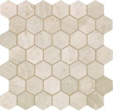 Mohawk Chateau Elegant Stone Torino Cream T843-CE42-12.37×12.62-MosaicFieldAccentTile-Stone