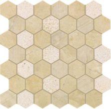 Mohawk Chateau Elegant Stone Milano Gris T843-CE43-12.37×12.62-MosaicFieldAccentTile-Stone