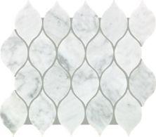 Mohawk Chateau Elegant Stone Bianco Carrara T843-CE40-11.81×13.19-MosaicFieldAccentTile-Stone
