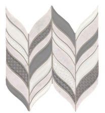 Mohawk Saint Dennis Stone, Glass Bianco T841-SD37-13.62×6-MosaicFieldAccentTile-Stone,Glass