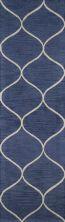 Momeni Newport Np-10 Blue 2'3″ x 8'0″ Runner NEWPONP-10BLU2380