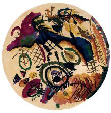 Momeni New Wave Nw-07 Ivory 7'9″ x 7'9″ Round NEWWANW-07IVY790R