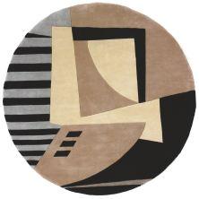 Momeni New Wave Nw-22 Black 7'9″ x 7'9″ Round NEWWANW-22BLK790R