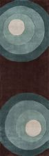 Momeni New Wave Nw-82 Teal 2'6″ x 12'0″ Runner NEWWANW-82TEL26C0