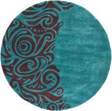 Momeni New Wave Nw-88 Turquoise 7'9″ x 7'9″ Round NEWWANW-88TQS790R