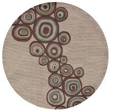 Momeni New Wave Nw120 Mushroom 7'9″ x 7'9″ Round NEWWANW120MUS790R