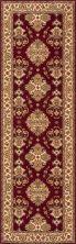 Momeni Persian Garden Pg-01 Burgundy 2'6″ x 8'0″ Runner PERGAPG-01BUR2680
